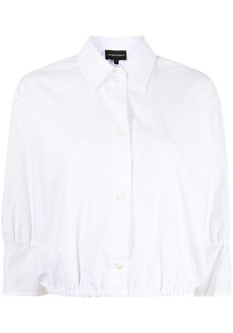 blusa bianca GIORGIO ARMANI | Blusa | 3K2C682N0FZ0100