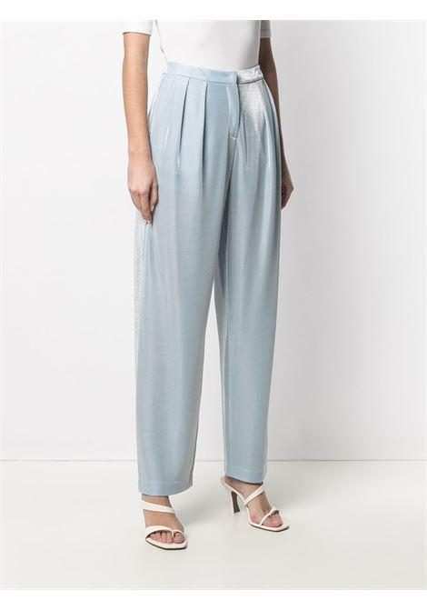 pantalone celeste GIORGIO ARMANI | Pantalone | 3K2P8G2JV4Z0705