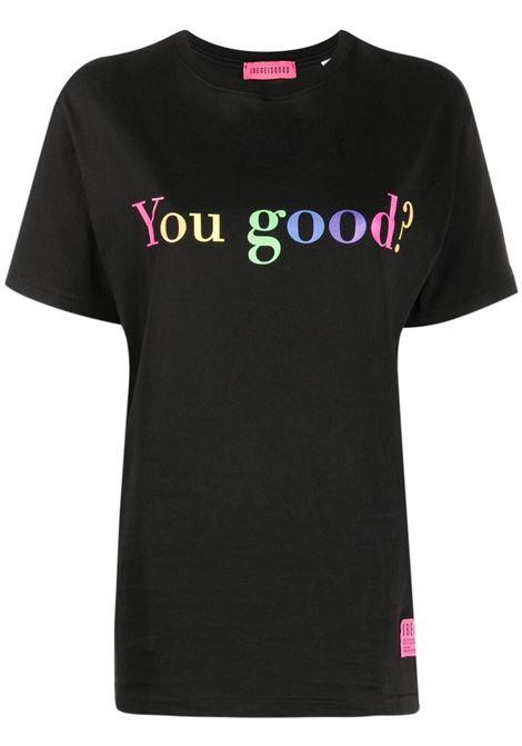 IRENEISGOOD | T-shirt | IGTS007BLACK/RAIN