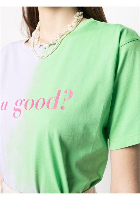 IRENEISGOOD | T-shirt | IGTS009GREEN