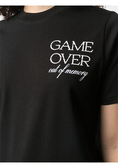 T-SHIRT STAMPA GAME OVER MCQ | T-shirt | 624665RQJ741000