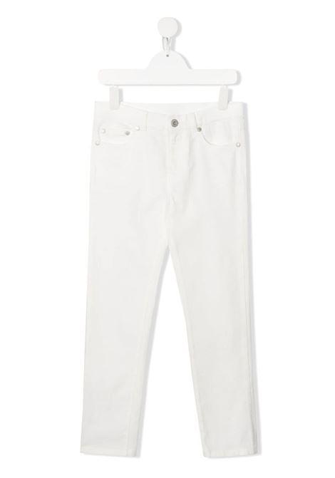DENIM BIANCO MONCLER KIDS | Pantalone | 2A7132054A2A034#