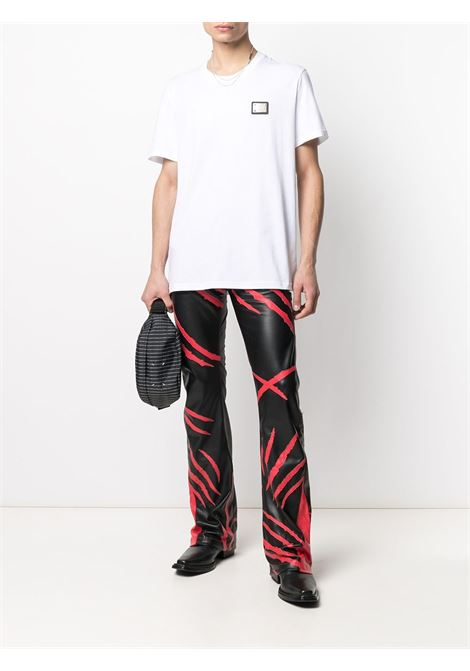T-SHIRT PLACCA LOGO MOSCHINO | T-shirt | 070120401