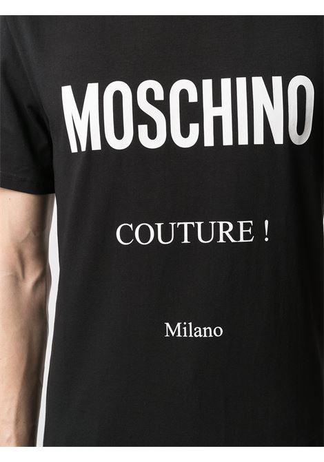 T-SHIRT LOGO MOSCHINO   T-shirt   073020391555