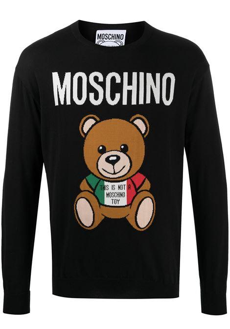 MAGLIA INTARSIA TEDDY BEAR MOSCHINO | Maglia | 092720021555