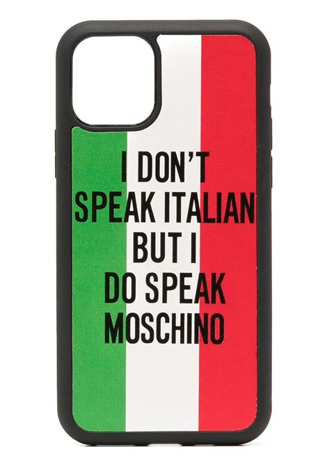 COVER IPHONE MOSCHINO   Cover   795083011888