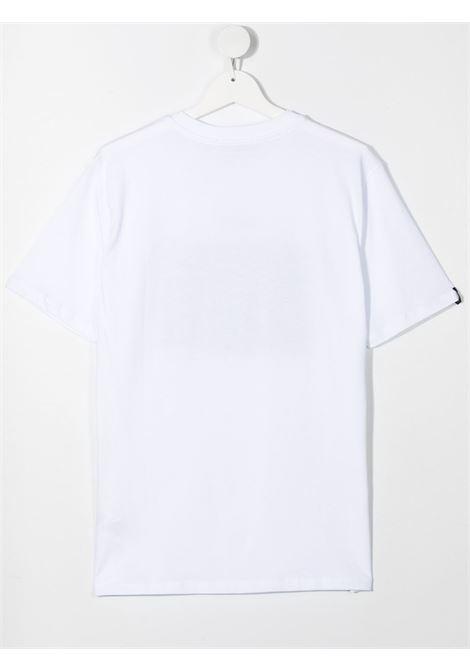 maglia bianca MSGM kids | T-shirt | MS026833001/65##