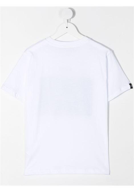 maglia bianca MSGM kids | T-shirt | MS026833001/65#
