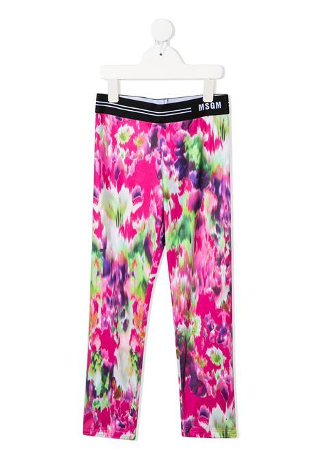 leggings multicolor MSGM kids | Leggings | MS026853200#