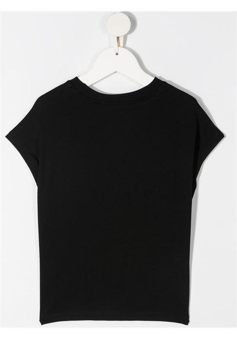 maglia nera MSGM kids   T-shirt   MS026866110#