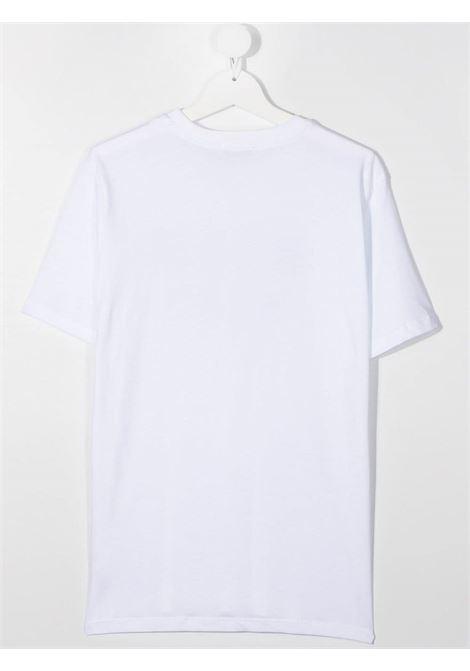 MAGLIA BIANCA MSGM kids | T-shirt | MS026900001##