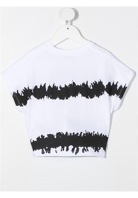 maglia bianca MSGM kids | T-shirt | MS026935001#