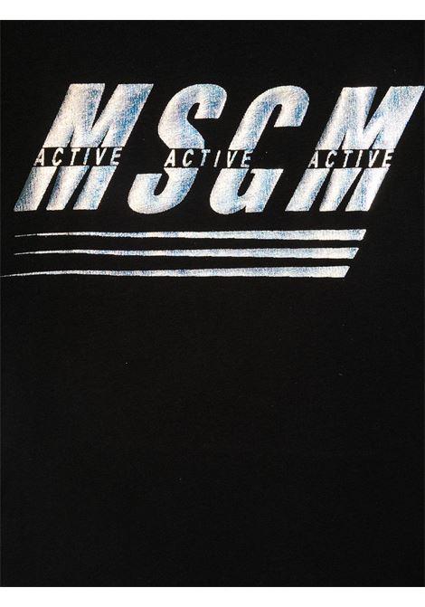 MAGLIA NERA MSGM kids | T-shirt | MS027072110#