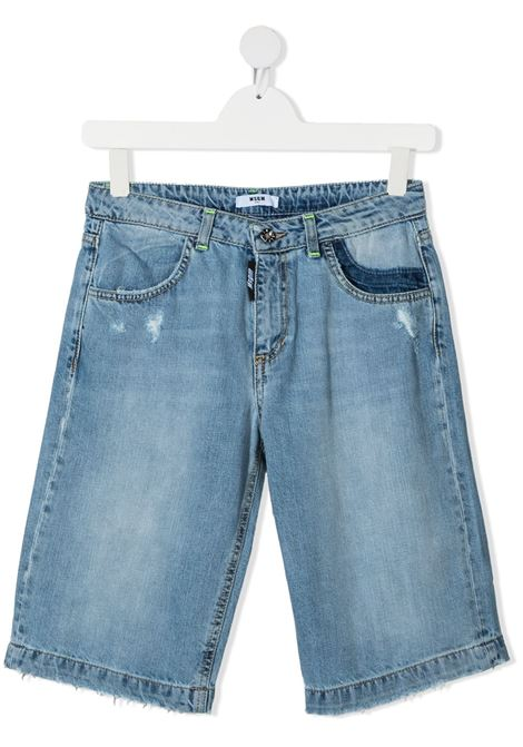 short jeans MSGM kids | Bermuda | MS027601126##