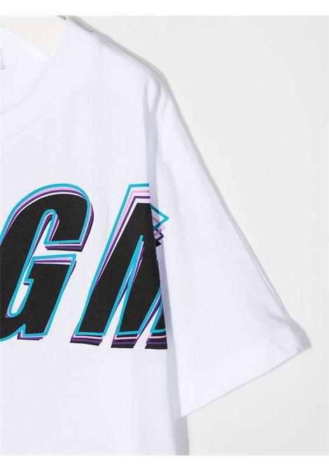 MAGLIA BIANCA MSGM kids | T-shirt | MS027629001#
