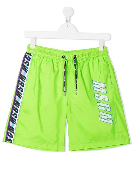costume verde MSGM kids   Bermuda   MS027662169##
