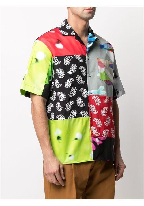 CAMICIA PATCHWORK MSGM | Camicia | 3040ME21Y21701235