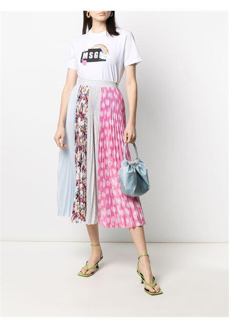 T-SHIRT STAMPA LOGO MSGM | T-shirt | 3041MDM16921729801