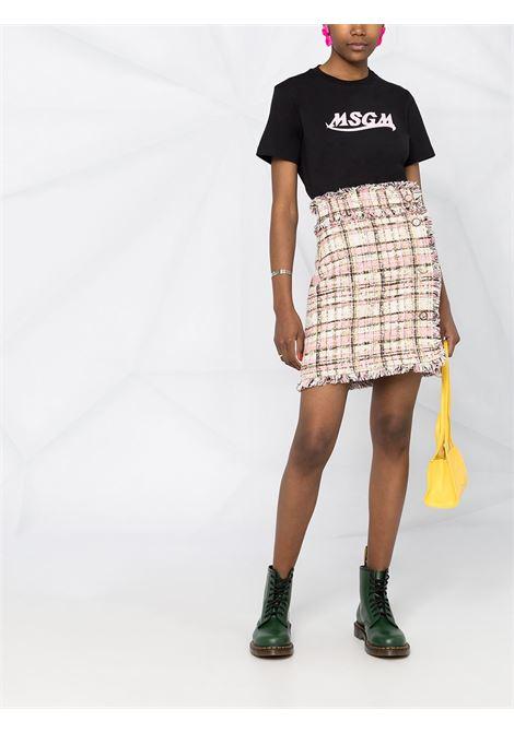 T-SHIRT STAMPA LOGO MSGM | T-shirt | 3041MDM17321729899