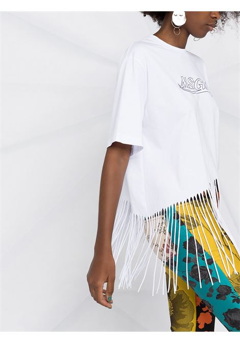 T-SHIRT STAMPA LOGO FRANGE MSGM | T-shirt | 3041MDM9221729801