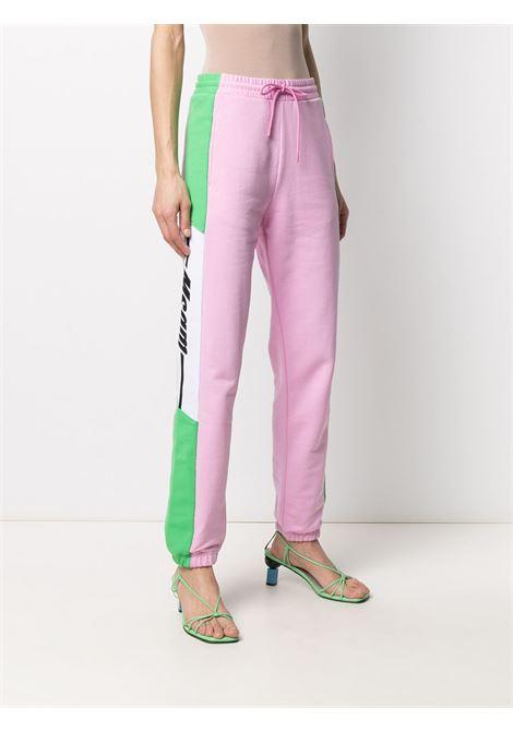 TRACK PANT CON PANNELLI LATERALI MSGM | Pantalone | 3041MDP6221729912