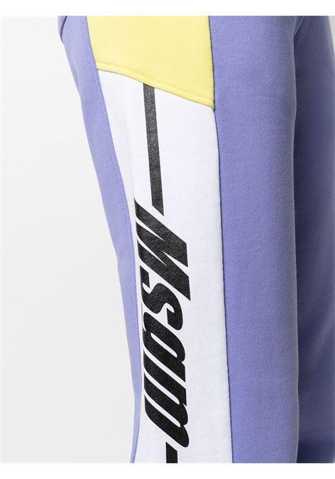 TRACK PANT PANNELI LATERALI MSGM | Pantalone | 3041MDP6221729972