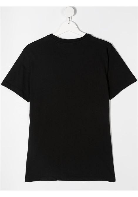 maglia nera NEIL BARRETT KIDS | T-shirt | 027880110##