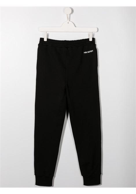 pantalone nero NEIL BARRETT KIDS | Pantalone | 027887110##