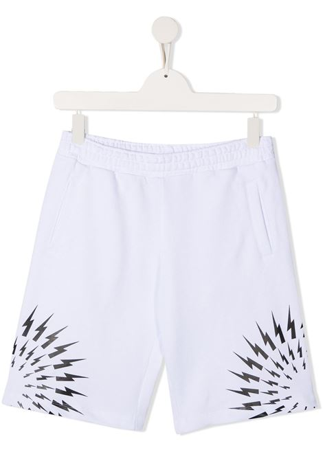 short bianco NEIL BARRETT KIDS | Bermuda | 027891001##