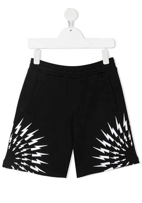 short nero NEIL BARRETT KIDS | Bermuda | 027891110#