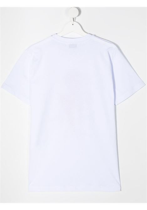 maglia bianca NEIL BARRETT KIDS | T-shirt | 027896001##