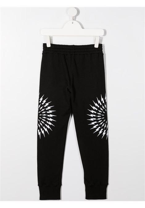 pantalone nero NEIL BARRETT KIDS | Pantalone | 027897110#