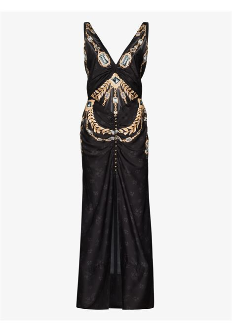 BEADED MAXIDRESS PACO RABANNE | Abito | 21ECR0335P00208074