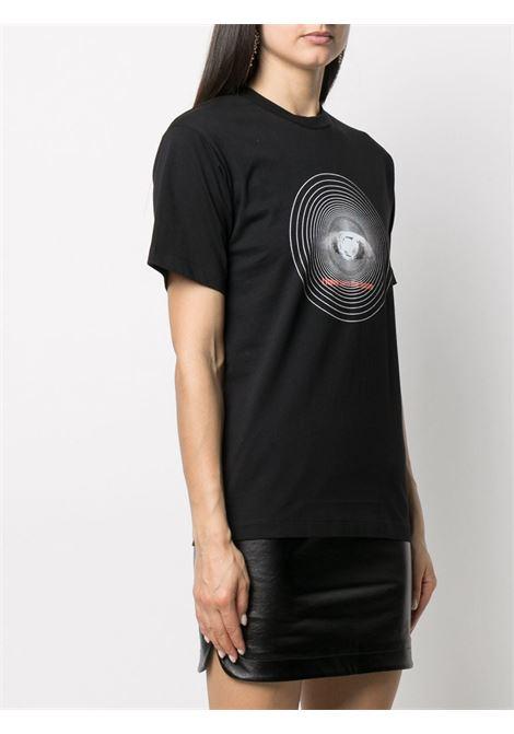 T-SHIRT STAMPA OCCHIO PACO RABANNE | T-shirt | 21EJTE049C00378001