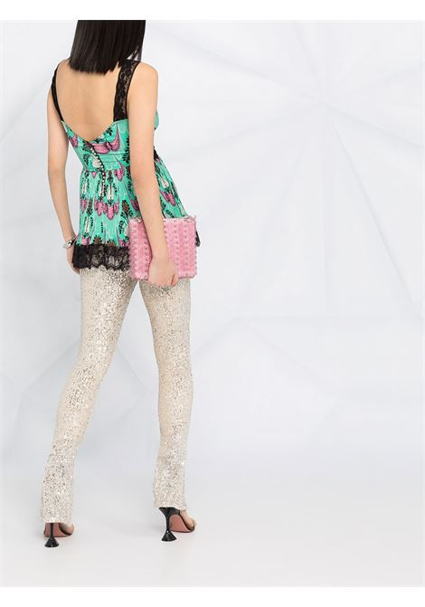 BLUSA STAMPA ALL OVER PACO RABANNE | Top | 21PCT0086P00211440