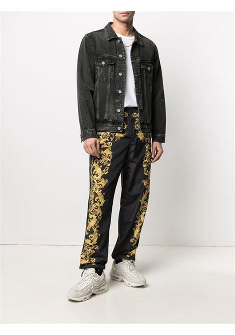 pantalone nero VERSACE JEANS COUTURE | Pantalone | A2.GWA1B2.25188899