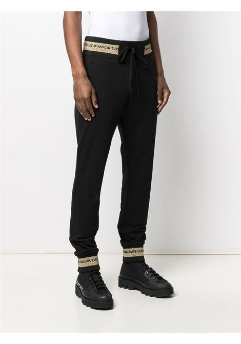 pantalone nero VERSACE JEANS COUTURE | Pantalone | A2.GWA1TD.30318K42