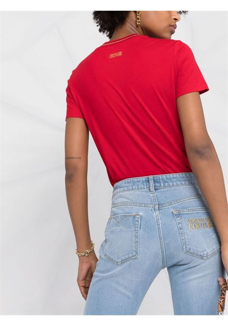 T-SHIRT STAMPA TAURO VERSACE JEANS COUTURE   T-shirt   B2.HWA728.11620514