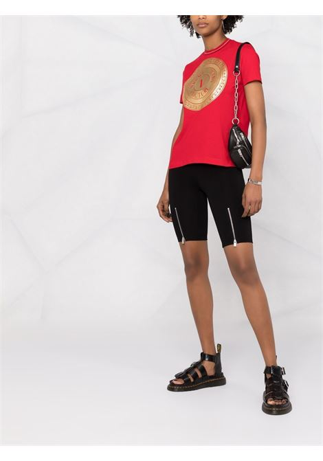 T-SHIRT STAMPA LOGO VERSACE JEANS COUTURE | T-shirt | B2.HWA7TC.30319O19