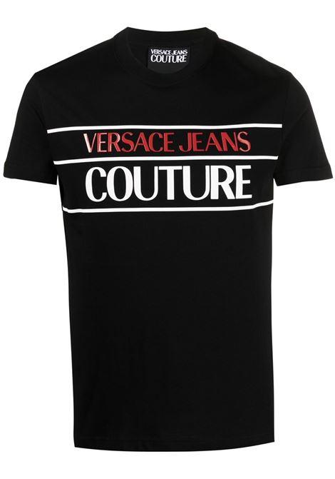 T-SHIRT STAMPA SLOGAN VERSACE JEANS COUTURE | T-shirt | B3.GWA7TC.30319899