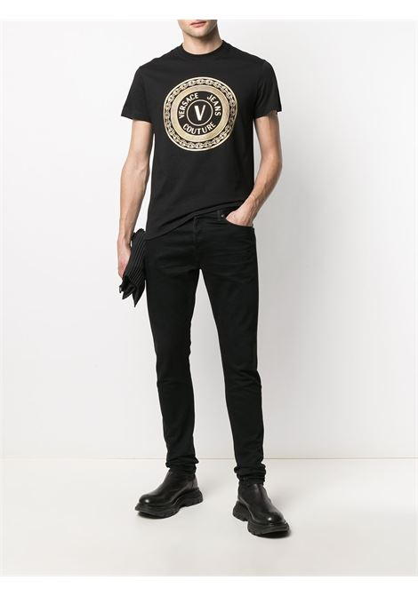 T-SHIRT STAMPA VERSACE JEANS COUTURE | T-shirt | B3.GWA7TE.30319K42