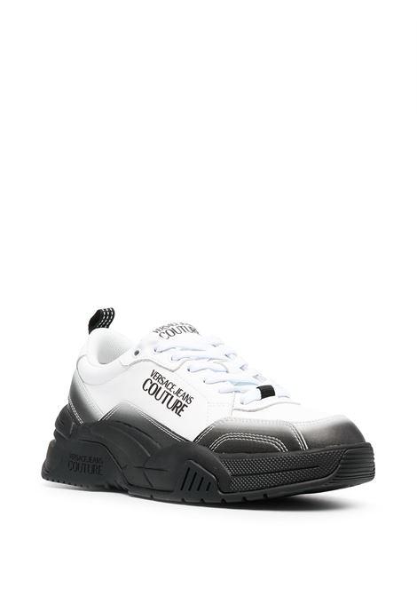 sneakers bianca nera VERSACE JEANS COUTURE | Scarpe | E0.YWASF6.71960M53