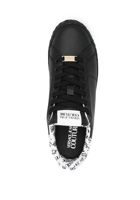 snakers nera in pelle VERSACE JEANS COUTURE | Scarpe | E0.YWASK3.71962899