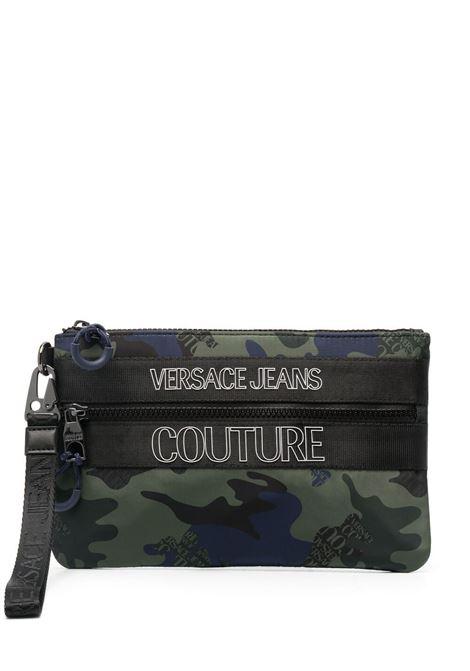 pochette camouflage VERSACE JEANS COUTURE | Portafogli | E3.YWAPA2.71897MGR