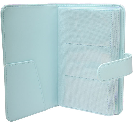 Fujifilm Instax Mini Wallet 108 Photo Album Ice Blue