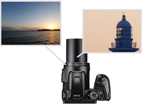 Details about Nikon Coolpix B500 HD Wi-Fi VR Digital Camera Kit Red