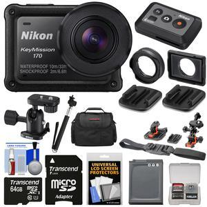 Nikon Keymission 170 Wi Fi Shock Waterproof 4k Video Action Camera