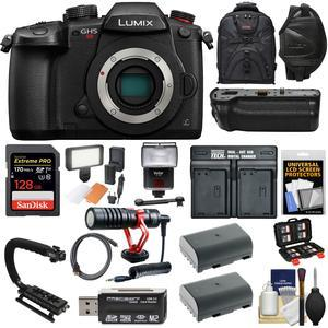 Details about Panasonic Lumix DC-GH5S Wi-Fi C4K Digital Camera Body & Video  Bundle