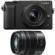 Panasonic Lumix DMC-GX85 4K Wi-Fi Digital Camera & 12-32mm & 45-150mm Lens (Black)
