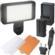 Precision Design 150 LED Ultra-Slim Video Light with 2 Diffusers, Battery & Charger